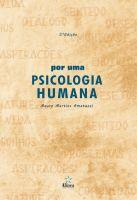 Por uma Psicologia Humana